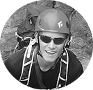 Zach founder of Range meal bar, high calorie meal replacement bar, easy and convenient food for backpacking, climbing, skiing, hunting