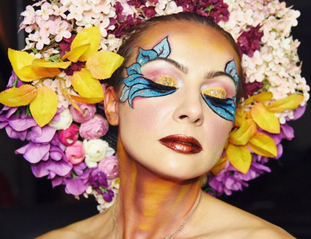 Flowers Creative Makeup & Headpiece