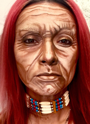 Peacekeeper American Indian Tribute Creative Makeup