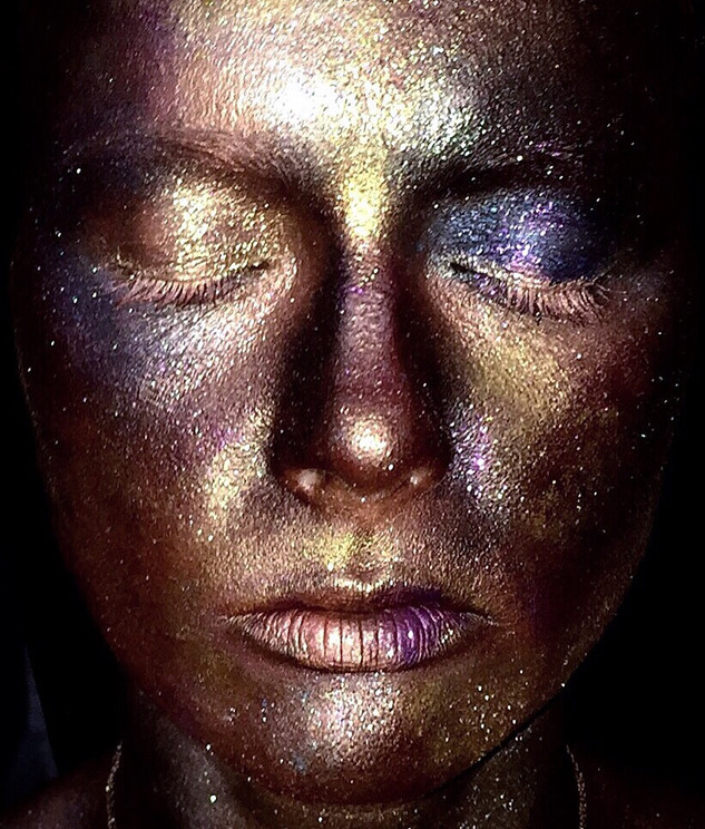 Galaxy Creative Makeup