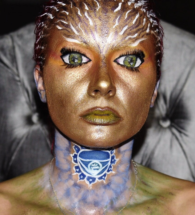 Subconscious never sleeps Creative Makeup