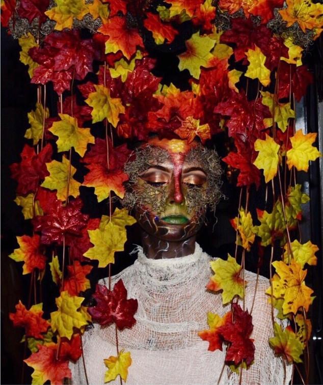 Autumn Creative Makeup & Headpiece
