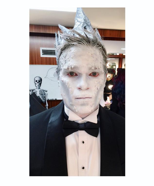 Handsome White Walker King - Game of Thrones - Halloween  Creatiive Makeup
