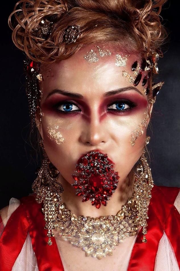 Warrior Queen creative Makeup & Hair Styling