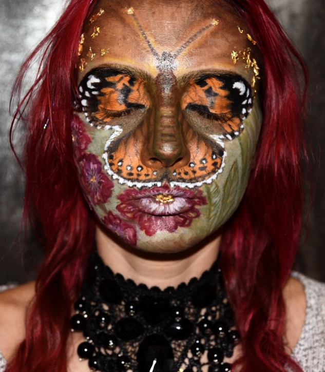 Butterfly Creative Makeup