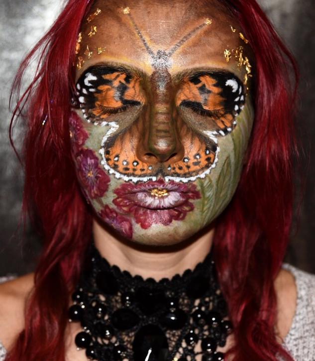 Butterfly Creative Makeup