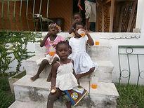 Enfants du Caillou Blanc à l'heure du goûter abidjan yopougon