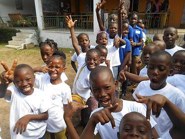 Les enfants du Caillou Blanc maison d'accueil et de vie à Yopougon Côte d'Ivoire