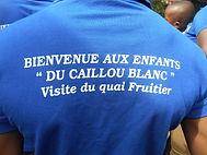 polos tee shirts offerts par Eolis aux enfants du Caillou Blanc