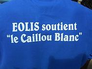 Eolis société Abidjan soutient la maison du Caillou Blanc
