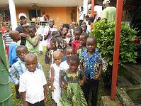 enfants du Caillou Blanc Abidjan Yopougon