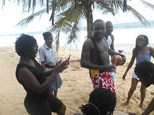 Journée de détente des éducateurs du Caillou Blanc Abidjan Côte d'Ivoire