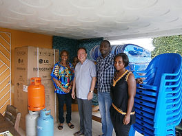 """La Fondation Banque Atlantique soutient """"Le Caillou Blanc"""" maison d'accueil enfants infectés vih Abidjan"""