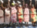 Ballet à l'occasion de la fête de Noël au Caillou Blanc maison d'accueil enfants infectés VIH à Yopougon Abidjan Côte d'Ivoire