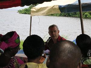André Bichet président d'ACP Lorette violence éducative ordinaire première journée des familles du Caillou Blanc Abidjan