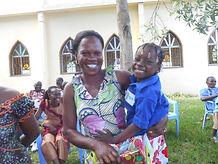 Fête des mères à l'occasion de la jopurnée des familles organisée par le Caillou Blanc
