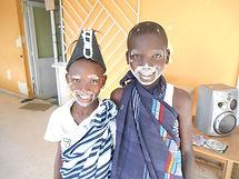 Pâques au Caillou Blanc maison d'accueil enfants infectés vih abidjan