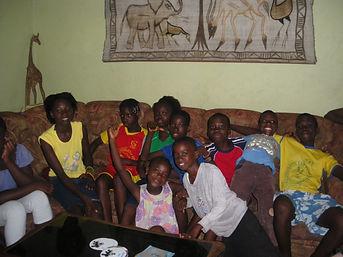 Le Caillou Blanc maison d'accueil d'enfants infectés VIH à Yopougon (Abidjan Côte d'Ivoire)
