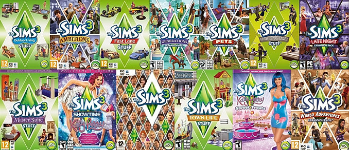 community the sims 3 all in one edition. Black Bedroom Furniture Sets. Home Design Ideas