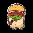 kisspng-hamburger-pug-t-shirt-cheeseburg