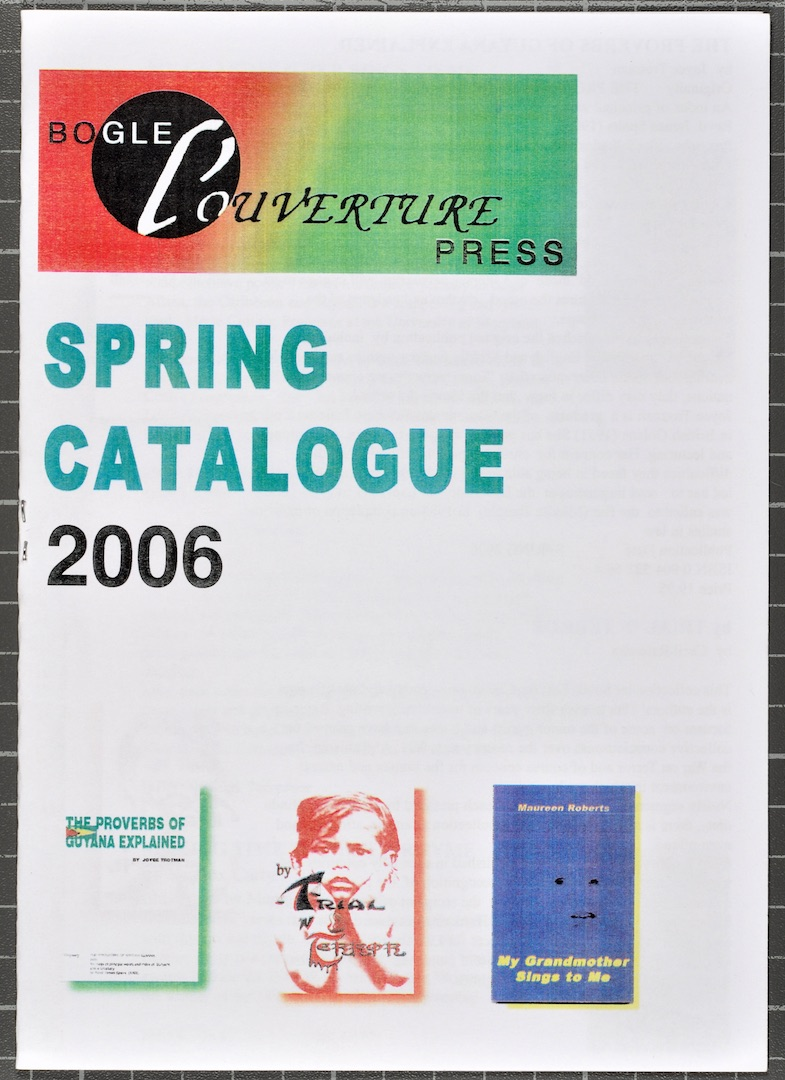 15 Bogle-L'Ouverture Publications (catalogue). 2006. Huntley Archives at London Metropolitan Archive