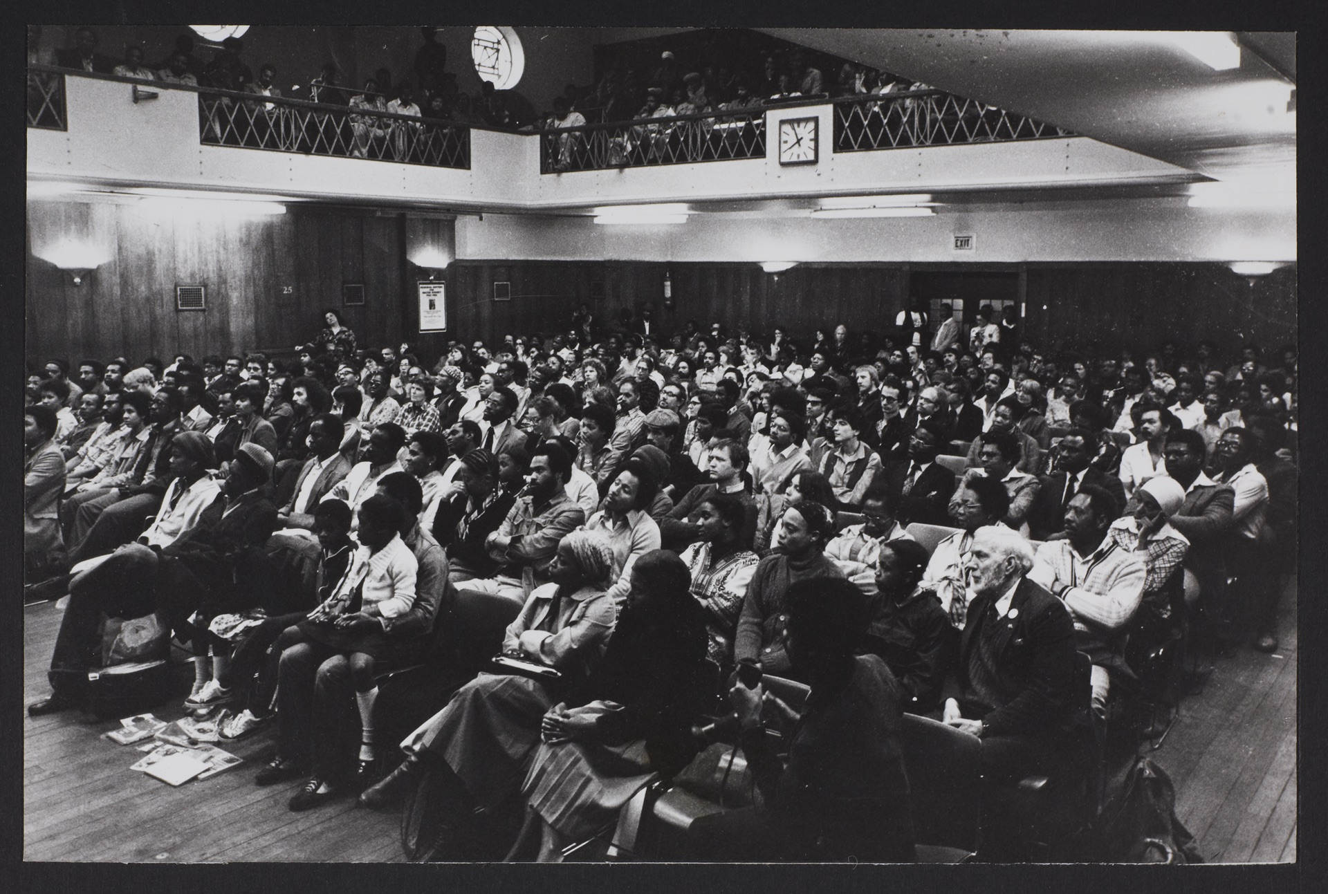 _24 Audience at Walter Rodney Memorial Meeting. 20th July 1980. Huntley Archives at London Metropoli