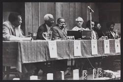 _21 CLR James, Trinidadian historian, writer and activist speaking at Walter Rodney Memorial Meeting