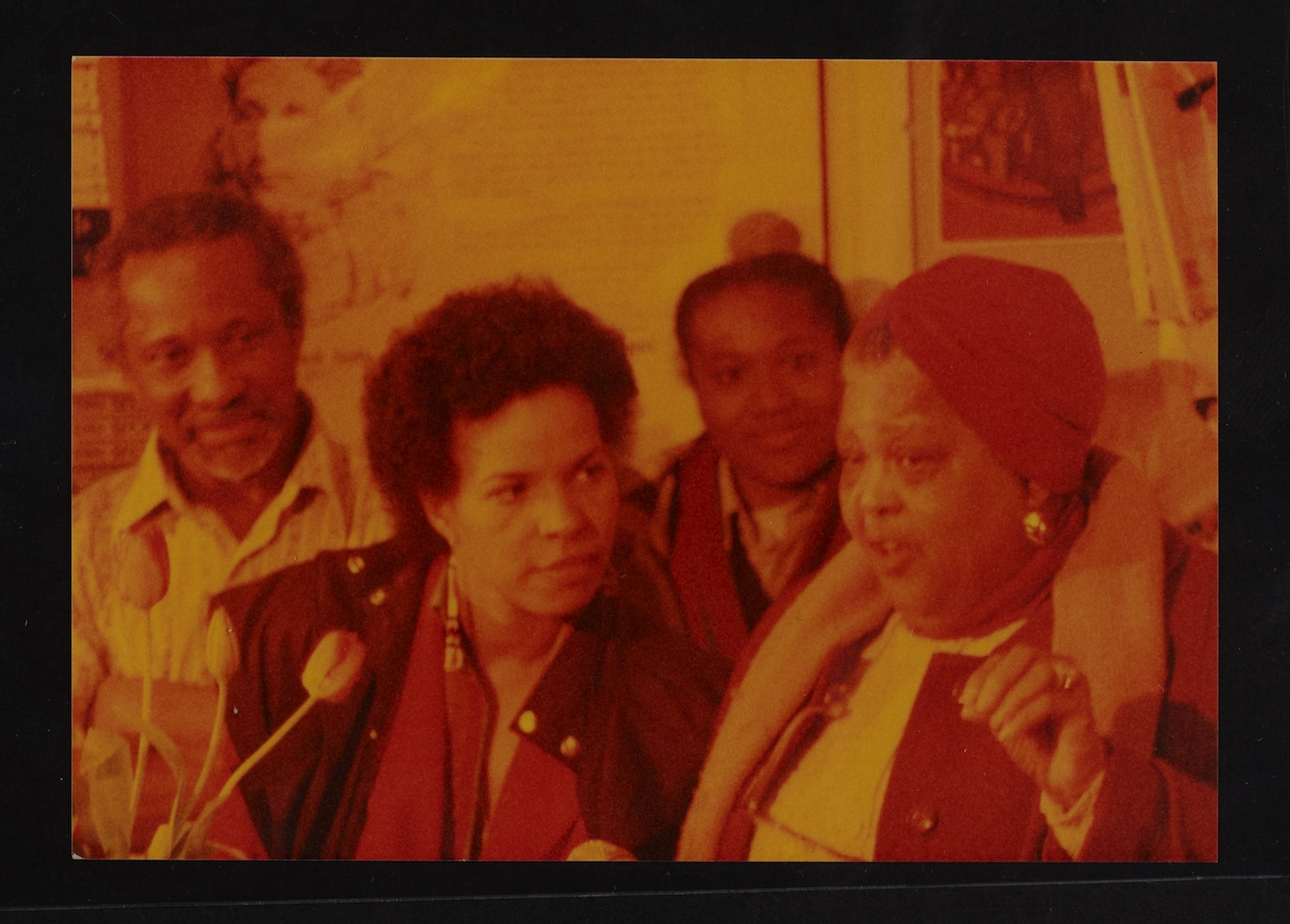 28 Ntozake Shange _ Louise Bennett (performing). Huntley Archives at London Metropolitan Archives_Ar