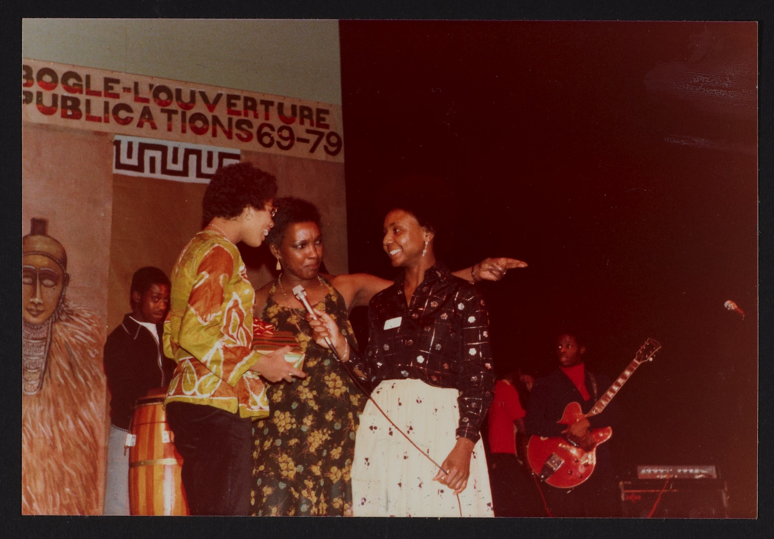 03 Carmen Munroe (middle) at Bogle-L'Ouverture Publications 10th Anniversary event. 1979. Huntley Ar