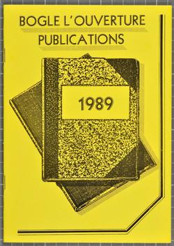 07 Bogle-L'Ouverture Publications (catalogue). 1989.  Huntley Archives at London Metropolitan Archiv