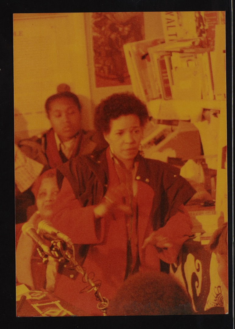 13 Ntozake Shange (performing). Huntley Archives at London Metropolitan Archives_Archives Series Ref
