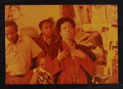 12 Ntozake Shange (performing). Huntley Archives at London Metropolitan Archives_Archives Series Ref