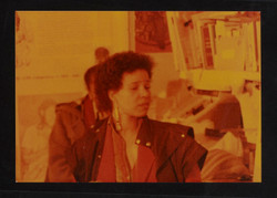 08 Ntozake Shange (performing). Huntley Archives at London Metropolitan Archives_Archives Series Ref