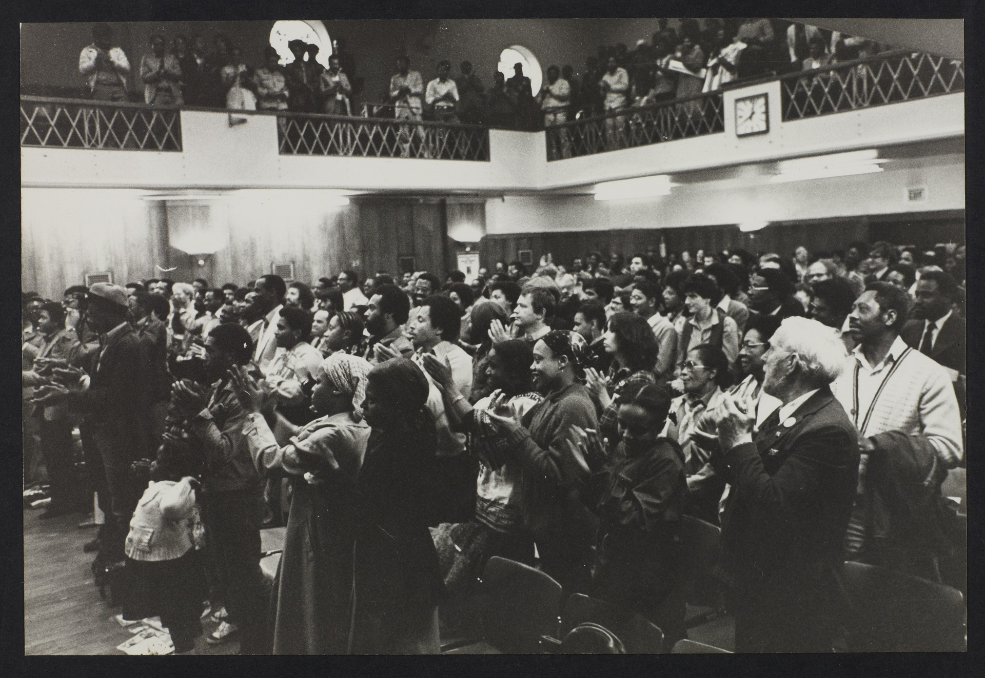 _25 Audience at Walter Rodney Memorial Meeting. 20th July 1980. Huntley Archives at London Metropoli