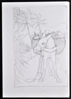 _05 Ackee, Breadfruit, Callaloo-Valerie Bloom (artwork by Kim Hartley). Huntley Archives at London M