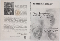 _02 The Groundings with My Brother-Walter Rodney (1st Edition 1969) (cover design Errol Lloyd). Hunt