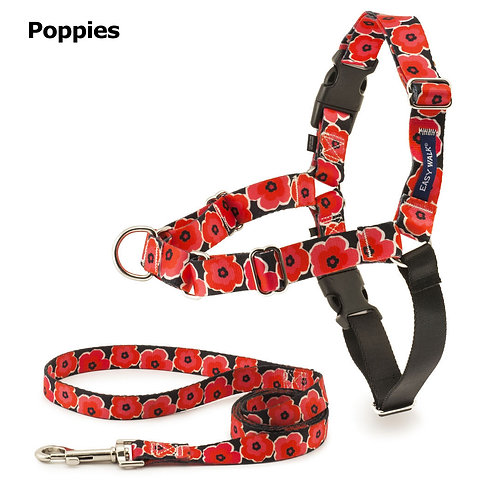 Poppies Easy Walk Chic and Leash by Petsafe