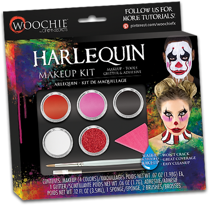 Harlequin Makeup Kit