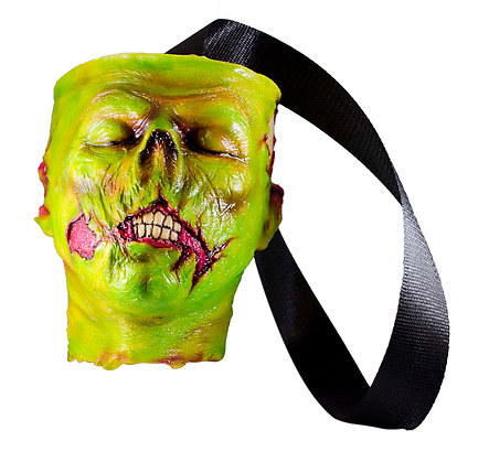 Zombie Head Bag (Green)