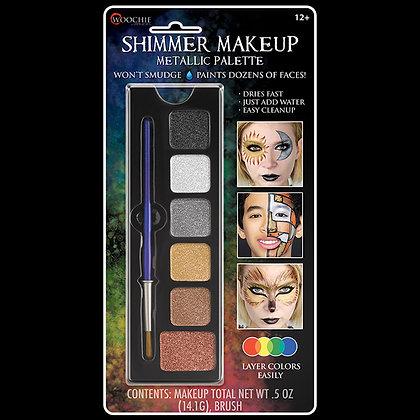 Metallic Shimmer 6 Color Makeup Palette
