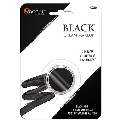 Black Cream Makeup - .12 oz