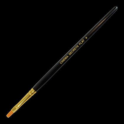 #4 Nylon Flat Utility Brush
