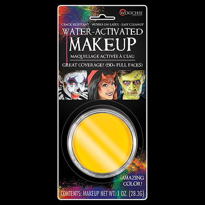 Yellow Water Activated Makeup - 1 oz