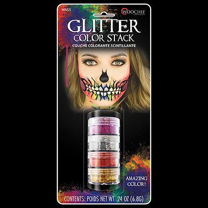4 Color Glitter Stack
