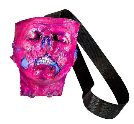 Zombie Head Bag (Pink)