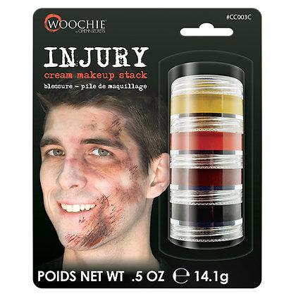 Injury Cream Makeup Stack