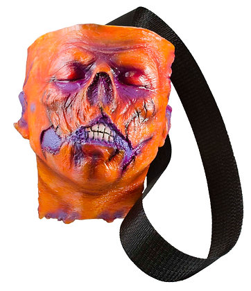 Zombie Head Bag (Orange)