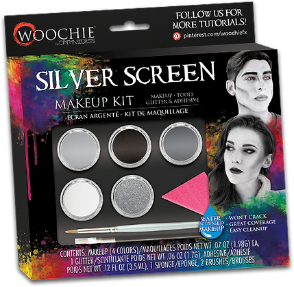 Silver Screen Makeup Kit