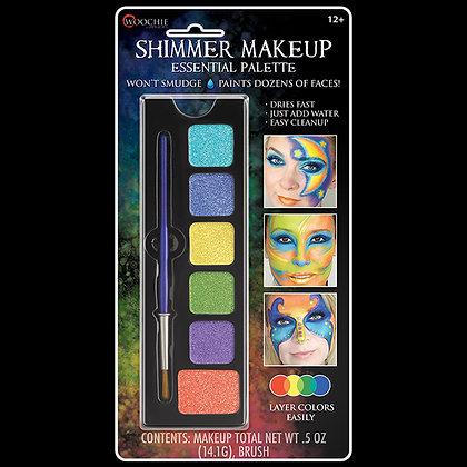 Essential Shimmer 6 Color Makeup Palette