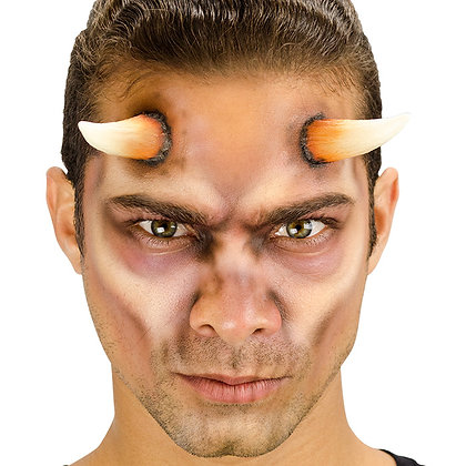 Demon Horns Foam Prosthetic